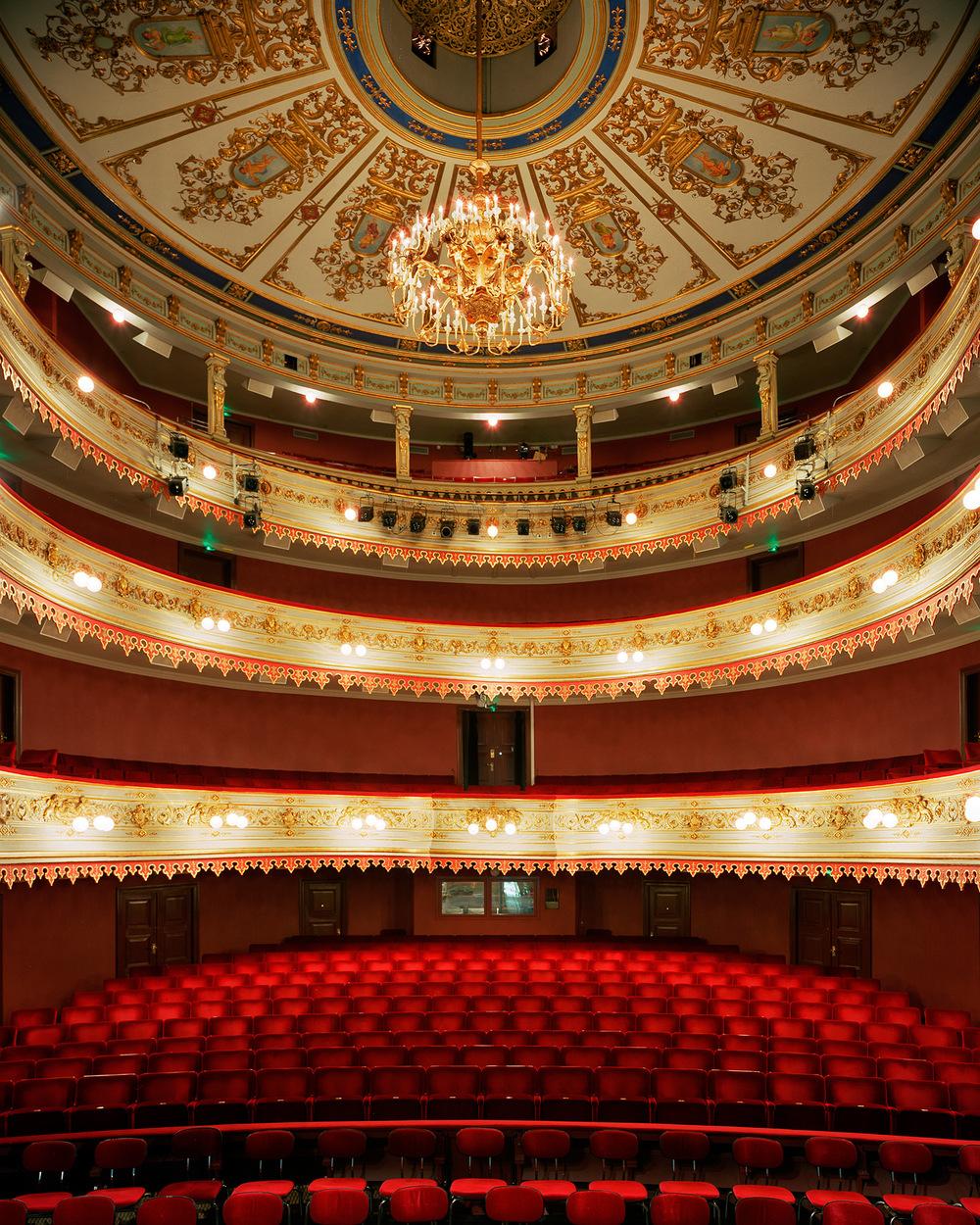Stora teatern  B C Malmberg