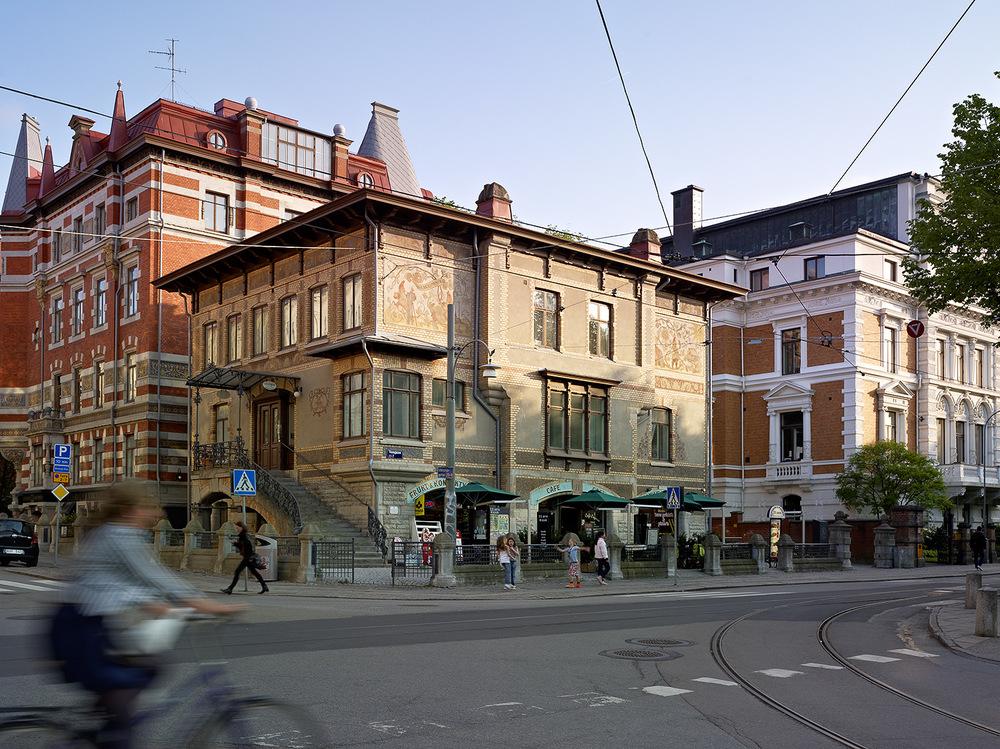 Tomtehuset  Rasmussen & Hedlund