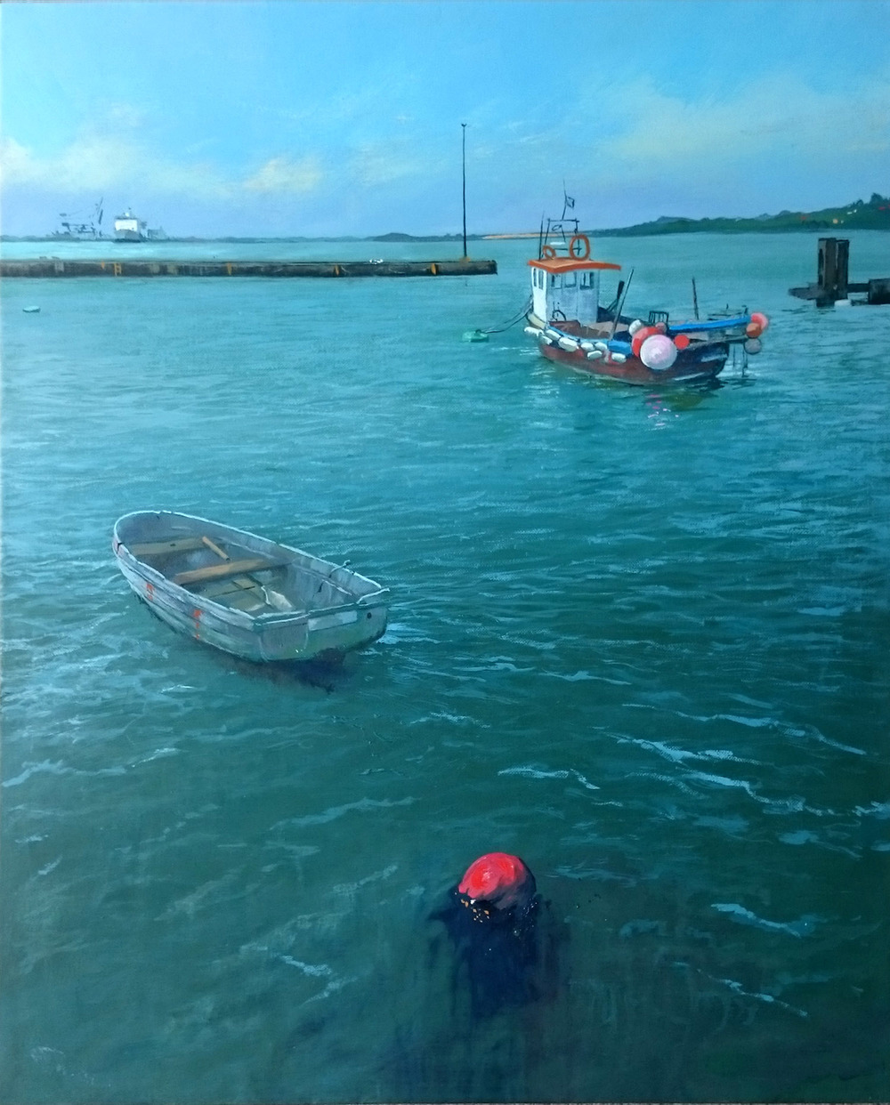 Harwich 5 oil on linen canvas £650