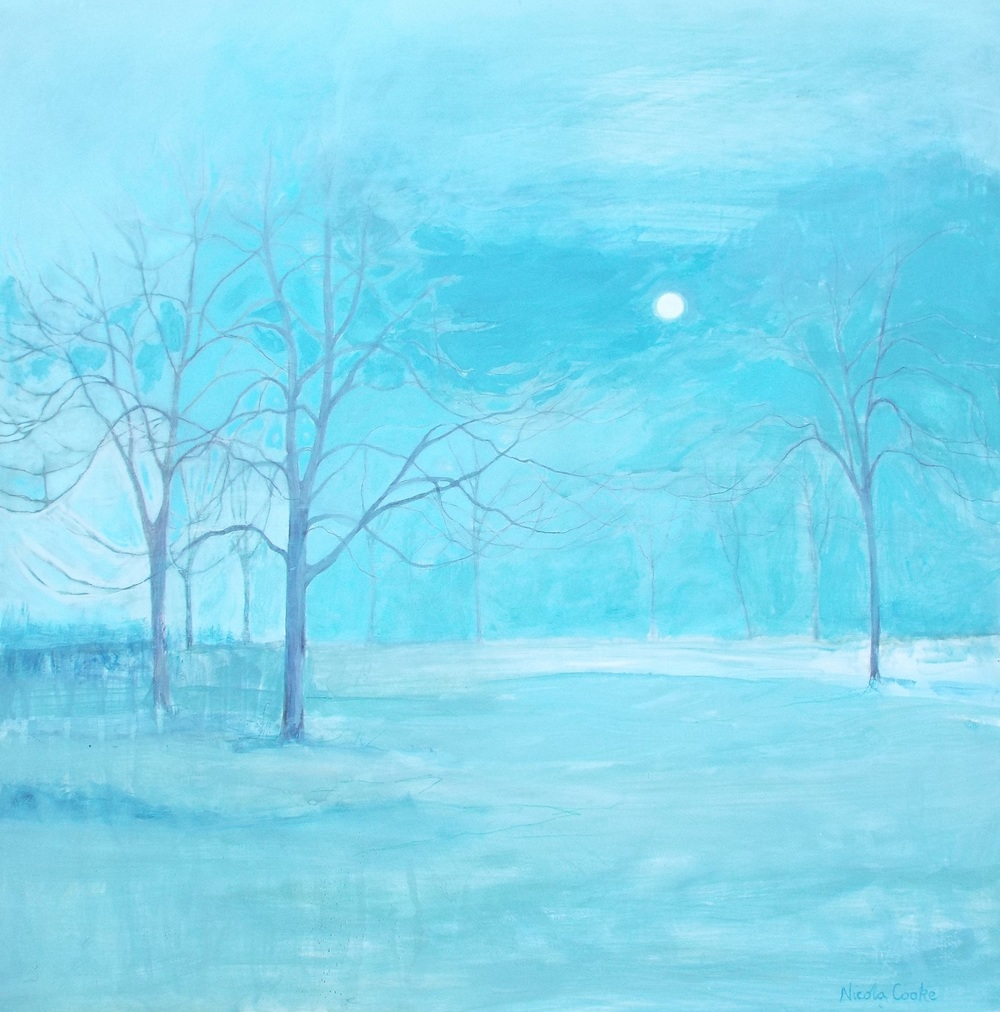 Moonlight mixed media £850