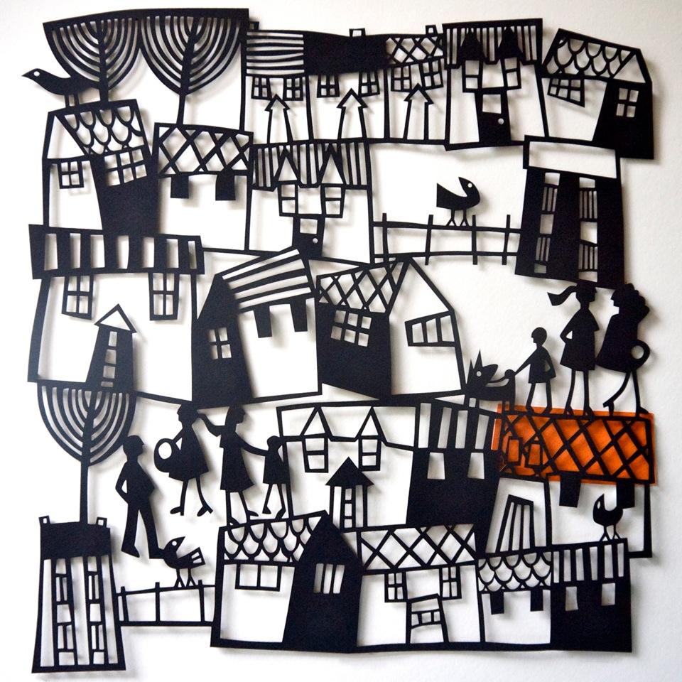 Village papercut