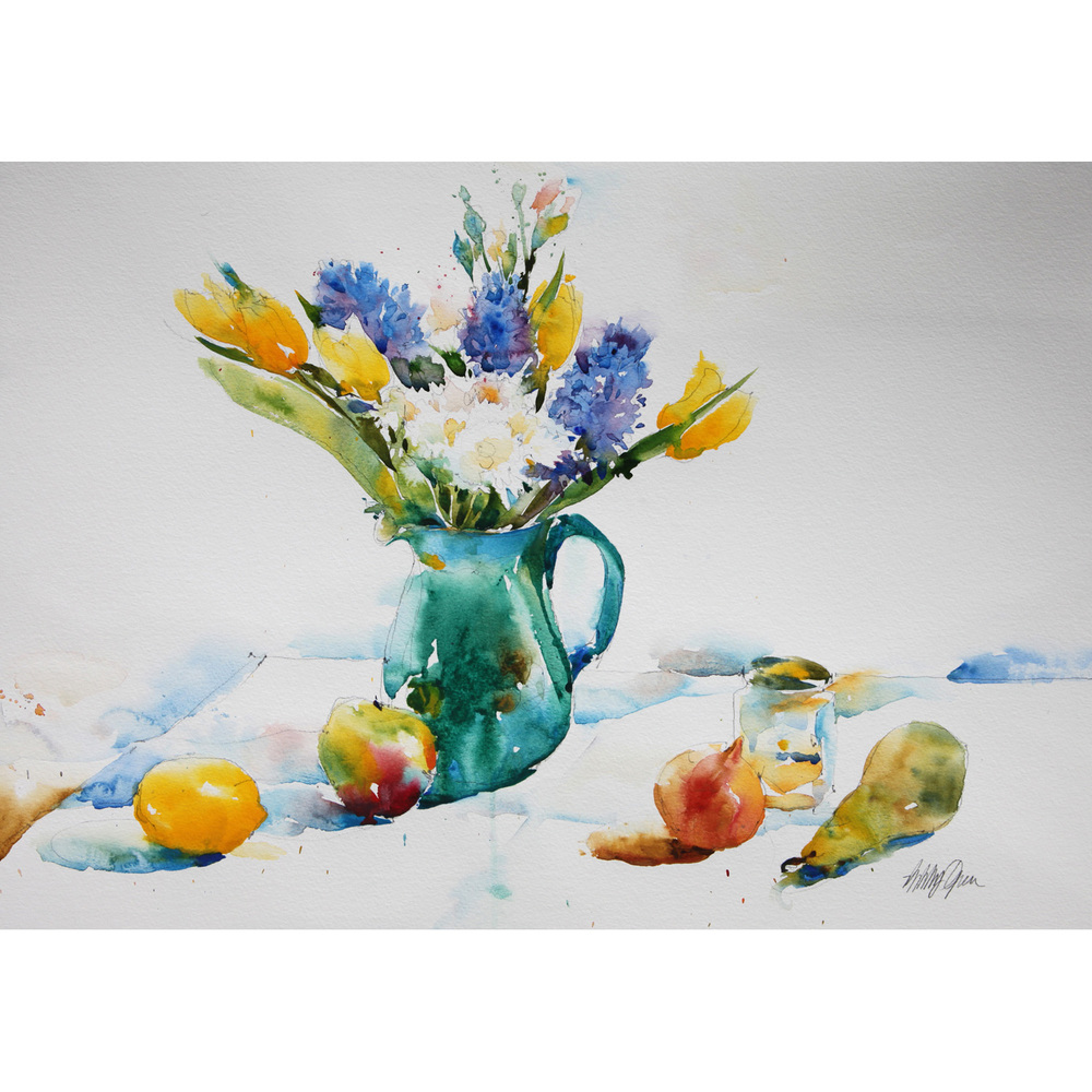 Spring Flowers watercolour £800