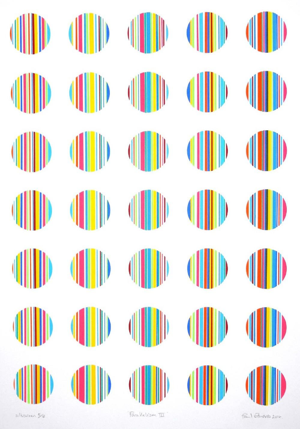 Parallelism III   silkscreen