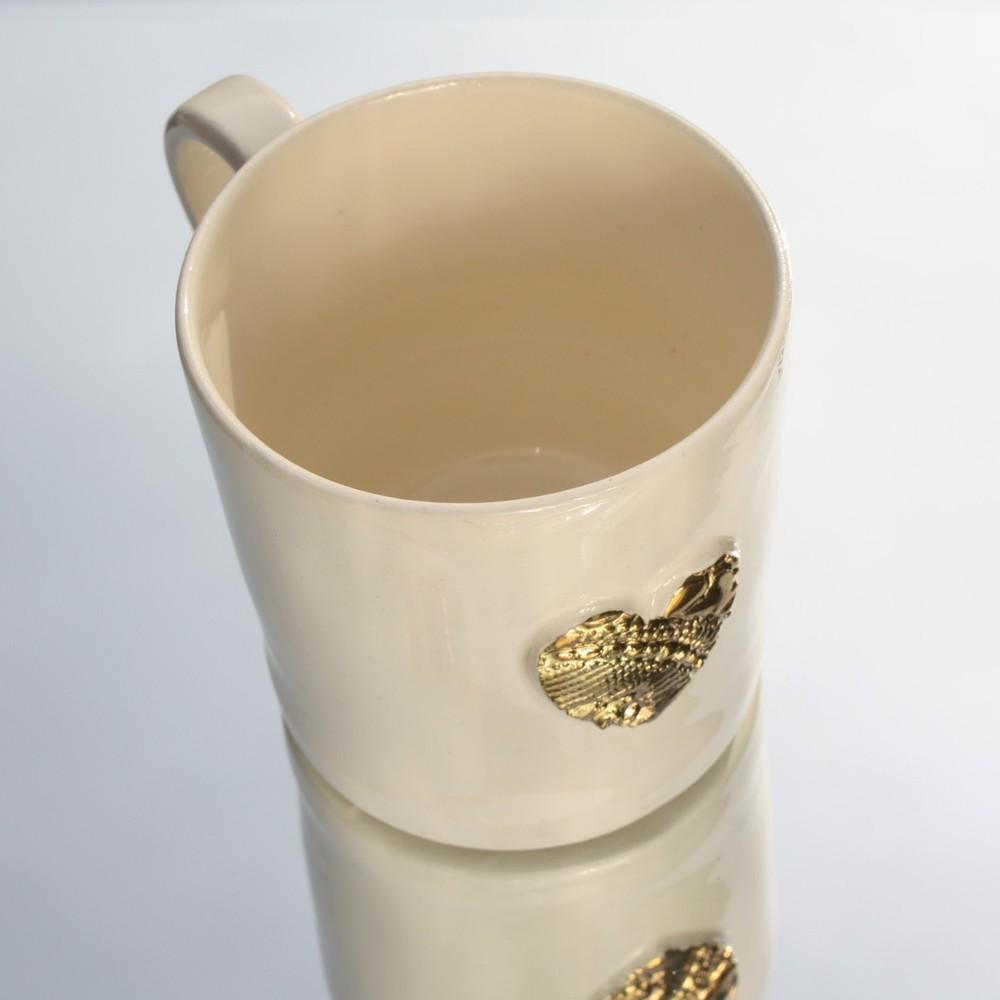Lustre Mug porcelain