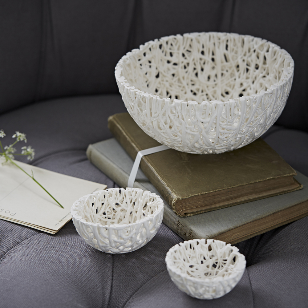 Tangled Web Bowls   ceramic