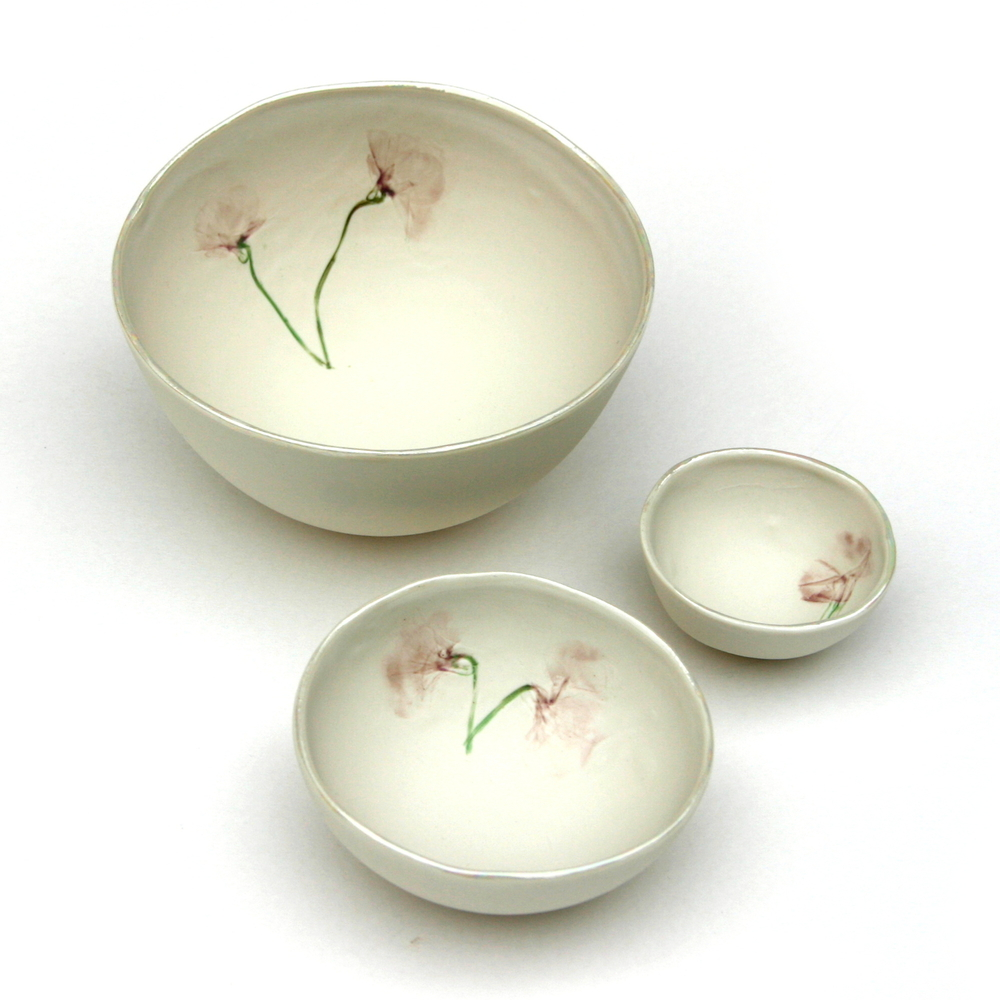 Country Garden Bowls  porcelain  £15-£40