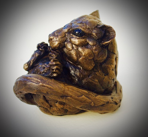 Dormouse  Bronze Resin