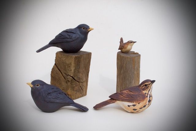 Small Birds  ceramic