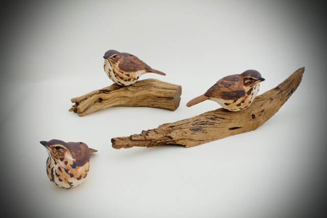 Thrushes  ceramic
