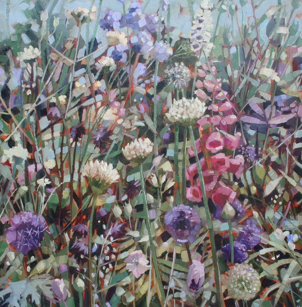 Spring Garden oil 60 x 60 cm sold