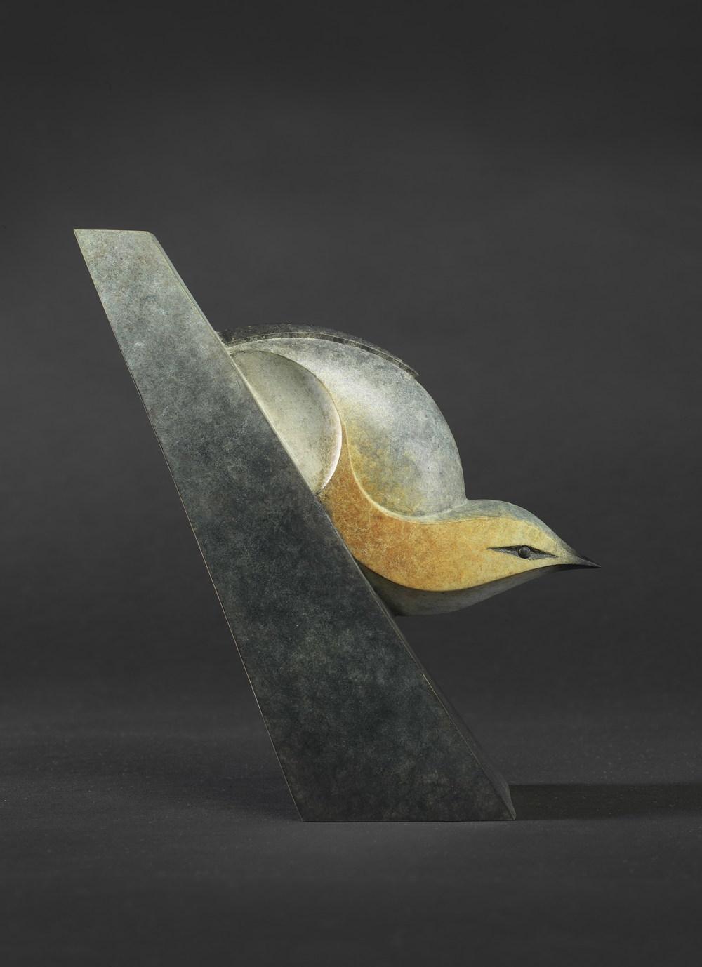 Nuthatch bronze 18cm £2950