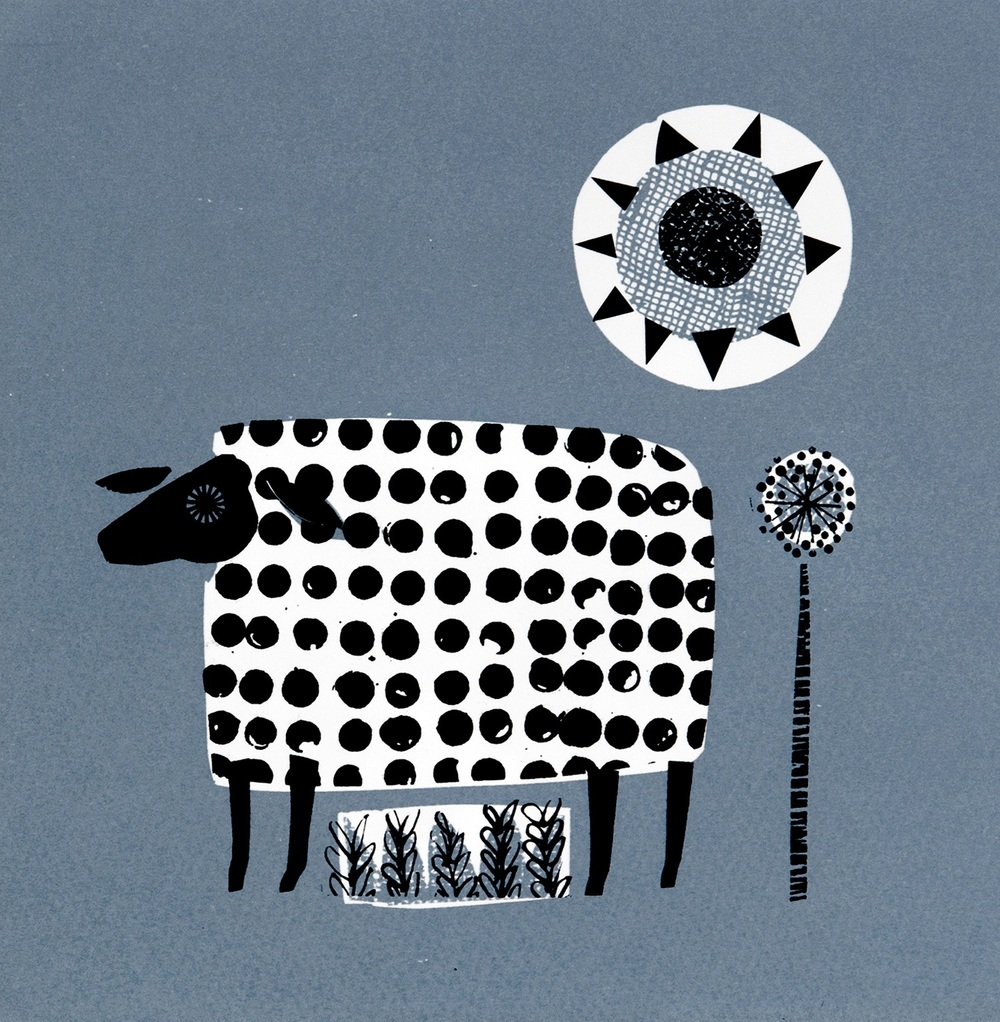 A Ewe Called Sue screenprint