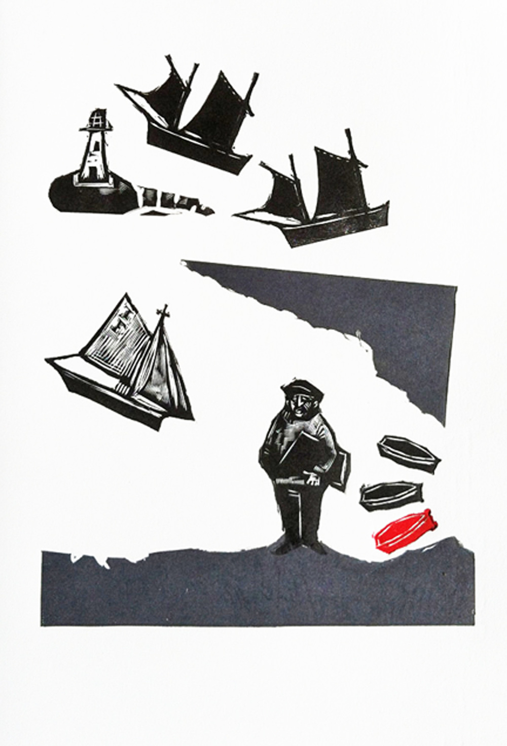 Alfred Wallis   engraving
