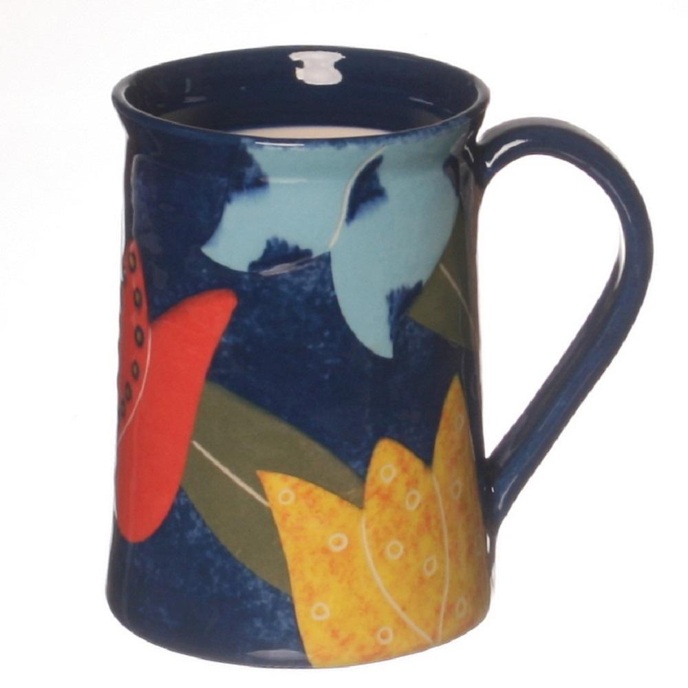 Cut Paper Tulip Mug ceramic