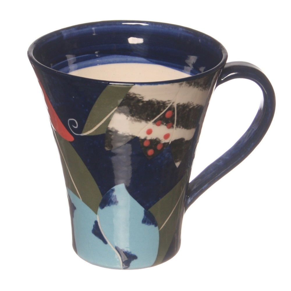 Cut Paper Tulip Cone Mug ceramic