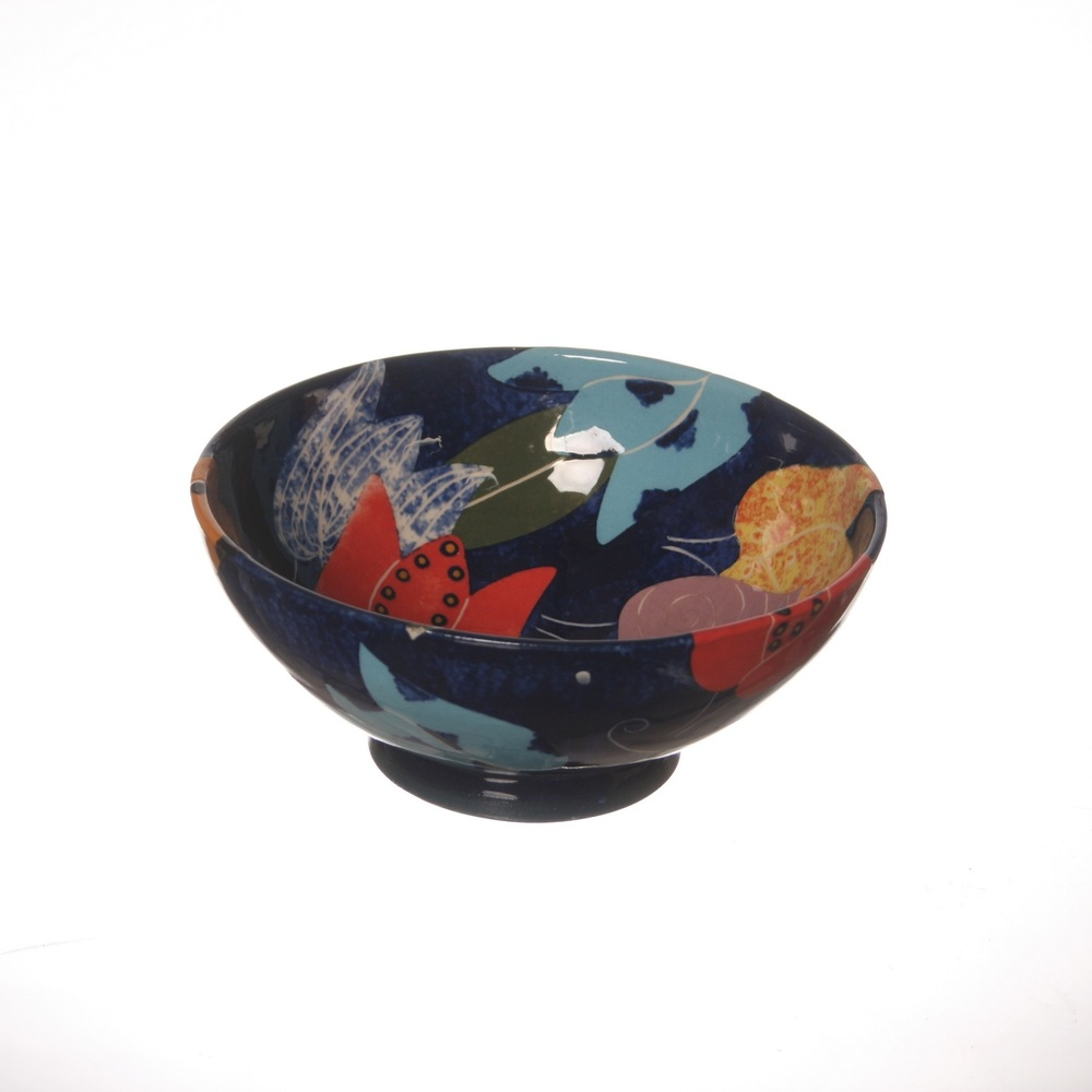 Cut Paper Tulip Bowl  ceramic