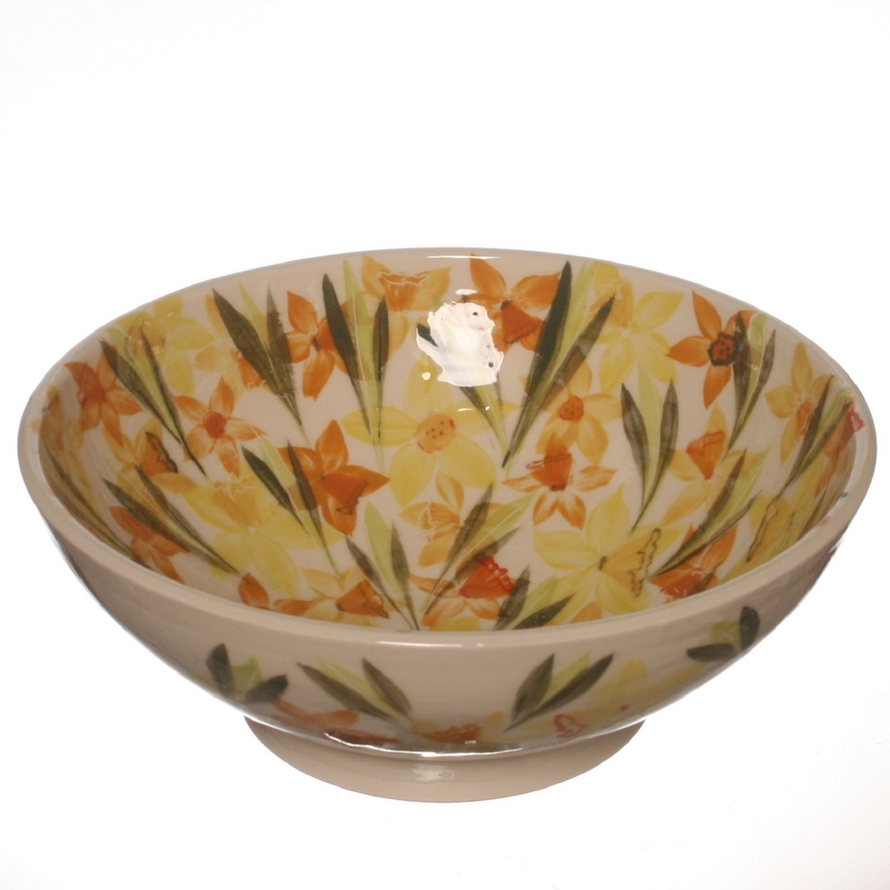 Daffodil Bowl  ceramic