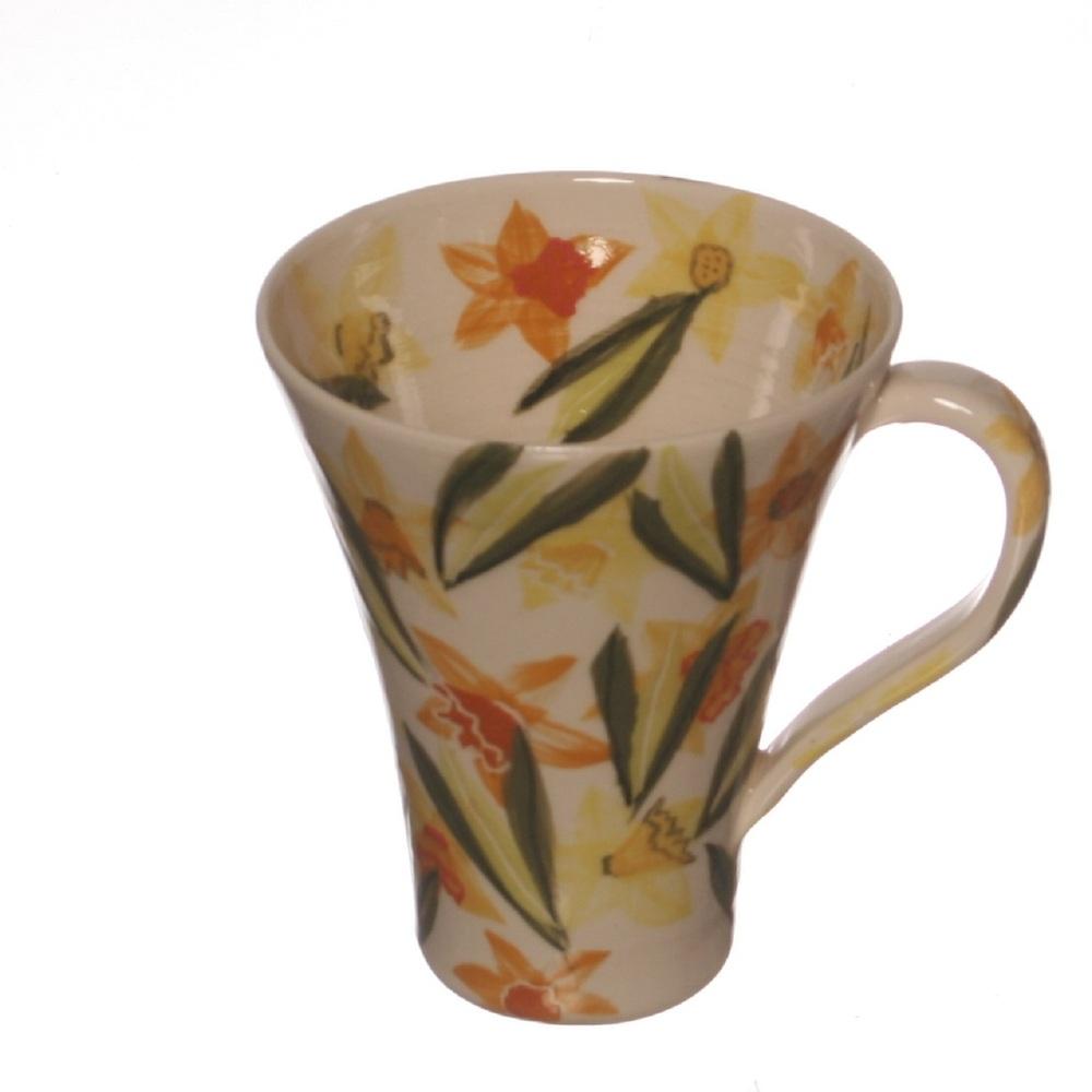Daffodil Cone Mug ceramic