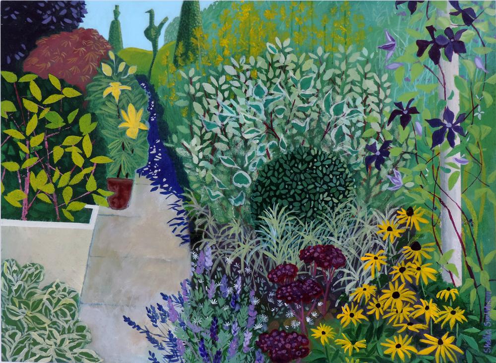 Garden Path  acrylic