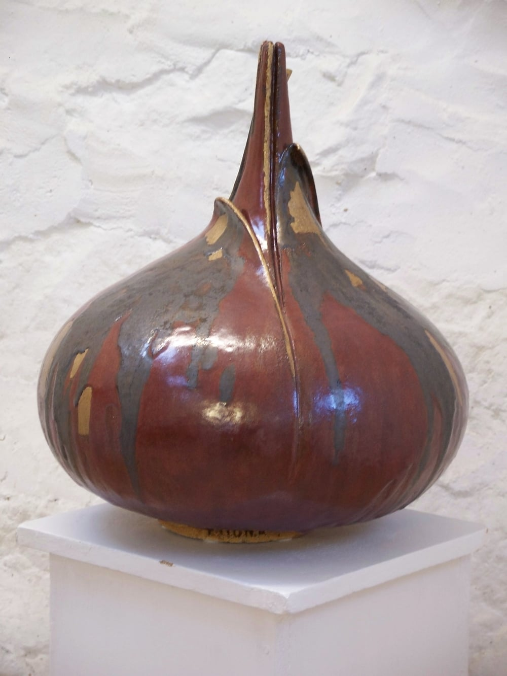 Big Red Onion glazed stoneware 40 x 50cm £440