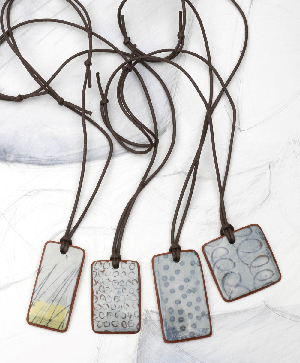 Necklace ceramic