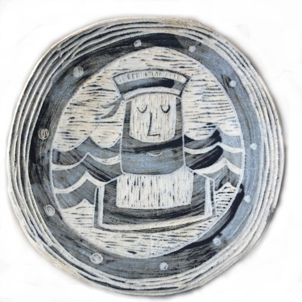Medium Plaque ceramic