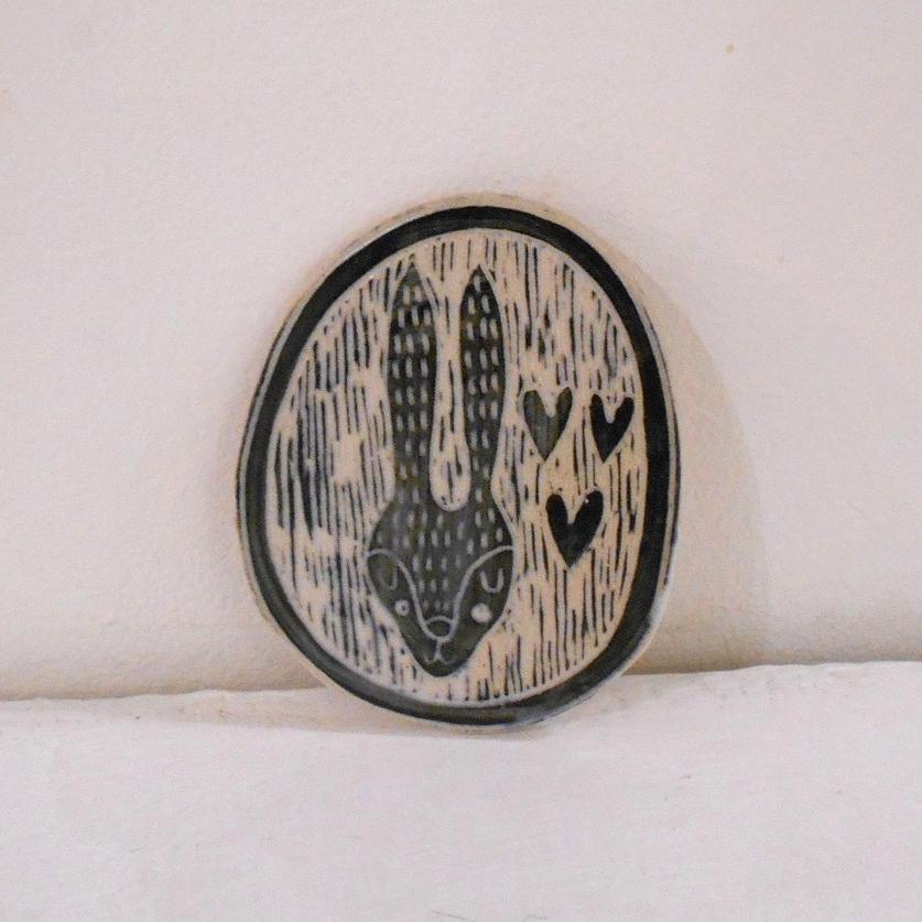 Small Plaque ceramic