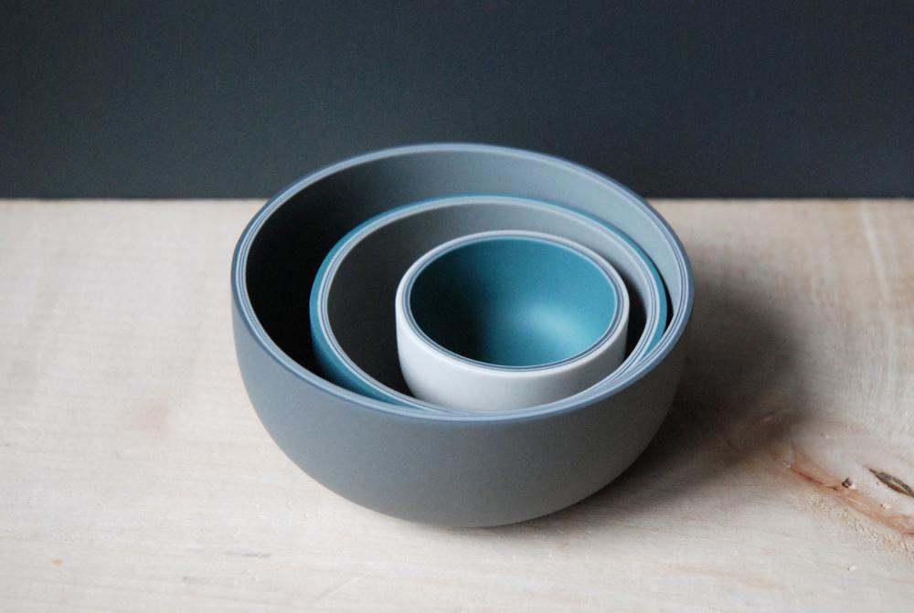 Three Vessels  ceramic