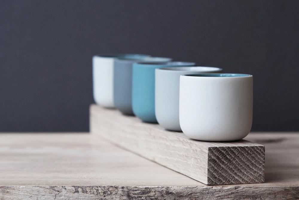 Row of Vessels  ceramic