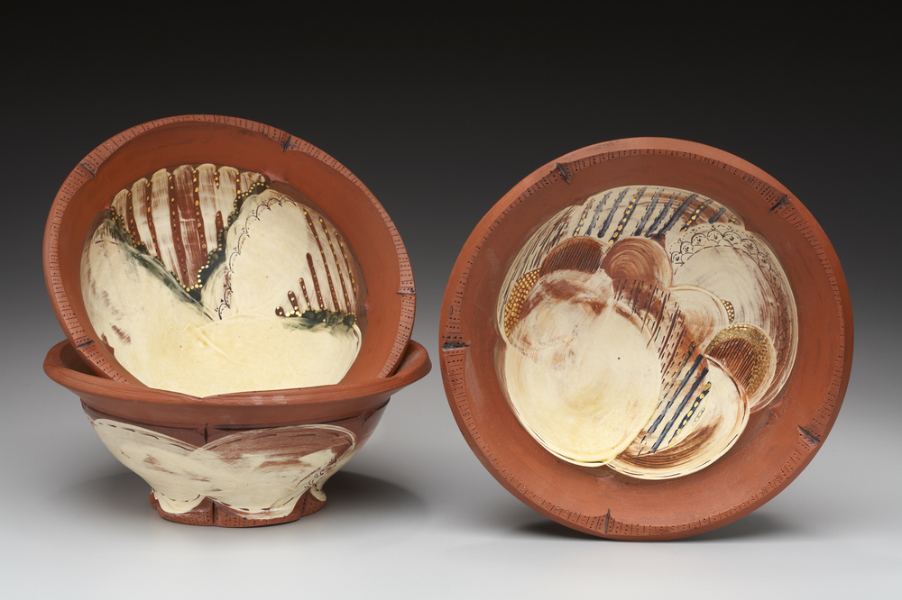 Bowls earthenware