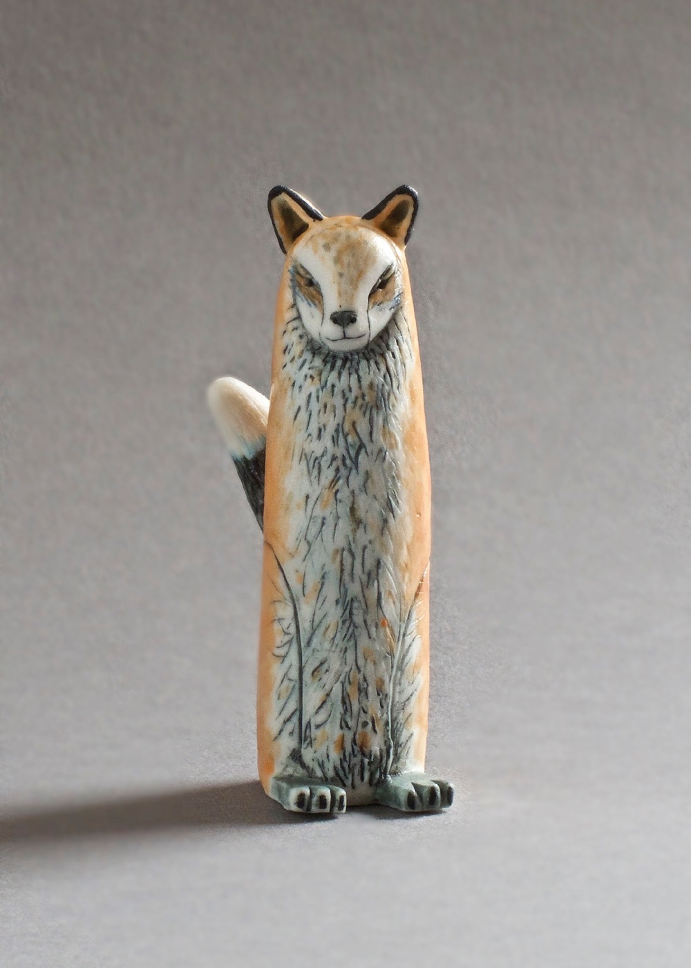 Red Fox Spirit   porcelain    £95