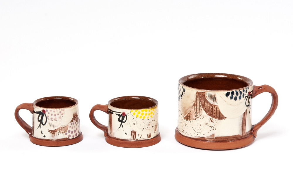 Mugs  earthenware