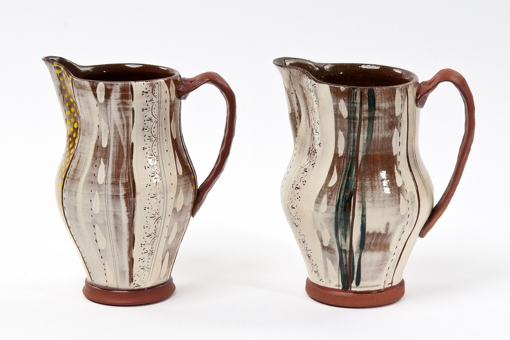 Jugs earthenware