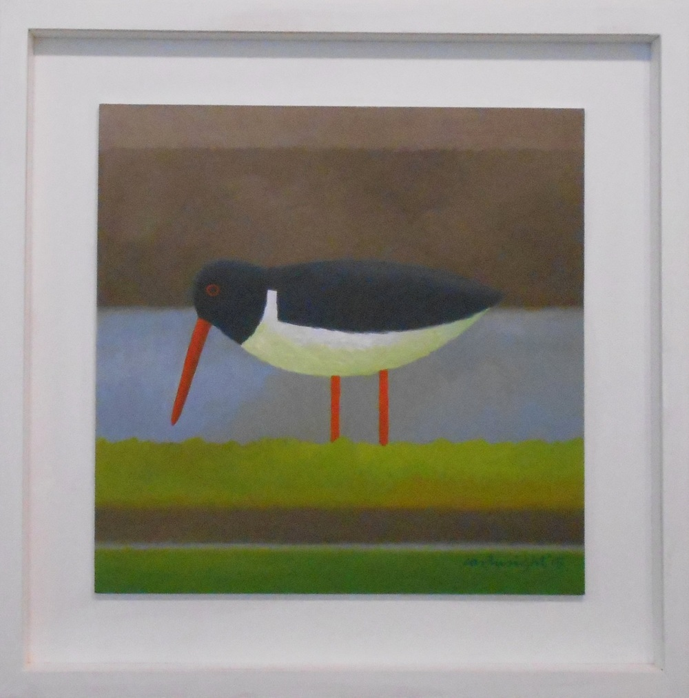 Oystercatcher   oil on board    35 x 35 cm    SOLD