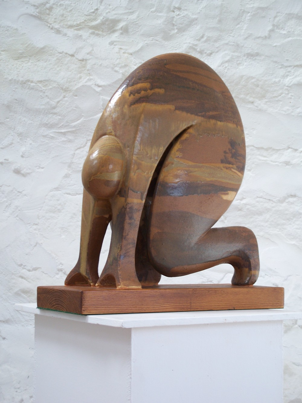 The Runner glazed stoneware 50 x 55cm £880