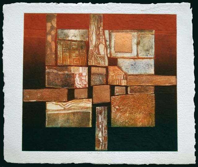 Great Copper Elements I paper 73x85cm, image 64x71cm