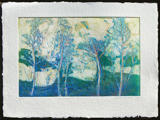 Primeval Land II paper 56x76cm,image 40x50cm