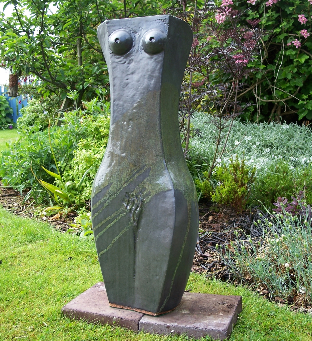 Dark Matter glazed stoneware Height:  approximately 90cm  £1,210