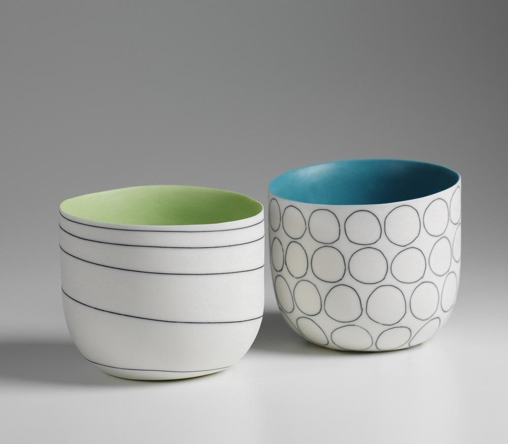 Lara Scobie  Bowls  ceramic