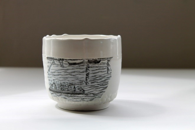 Tea Bowl 10 Porcelain  £40