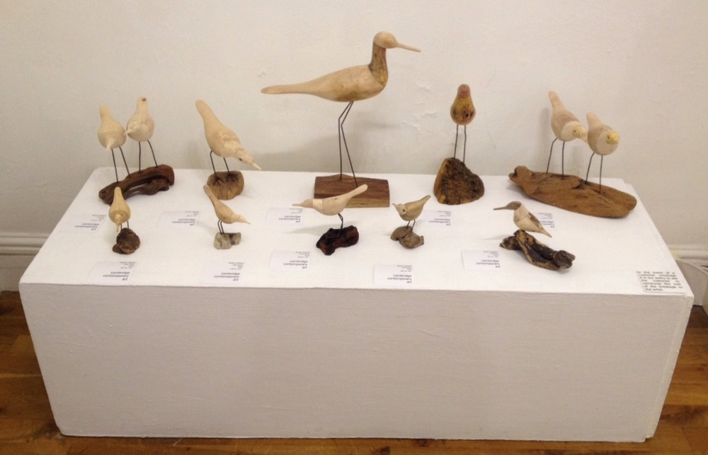 Kevan Hopson Selection of Birds wood £85-£195