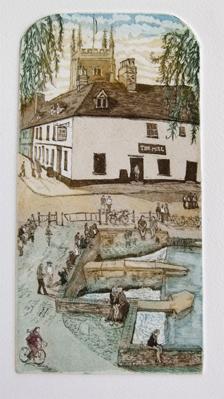 Glynn Thomas   The Mill  etching  £66
