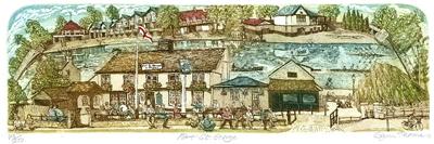 Glynn Thomas   Fort St George  etching  £115