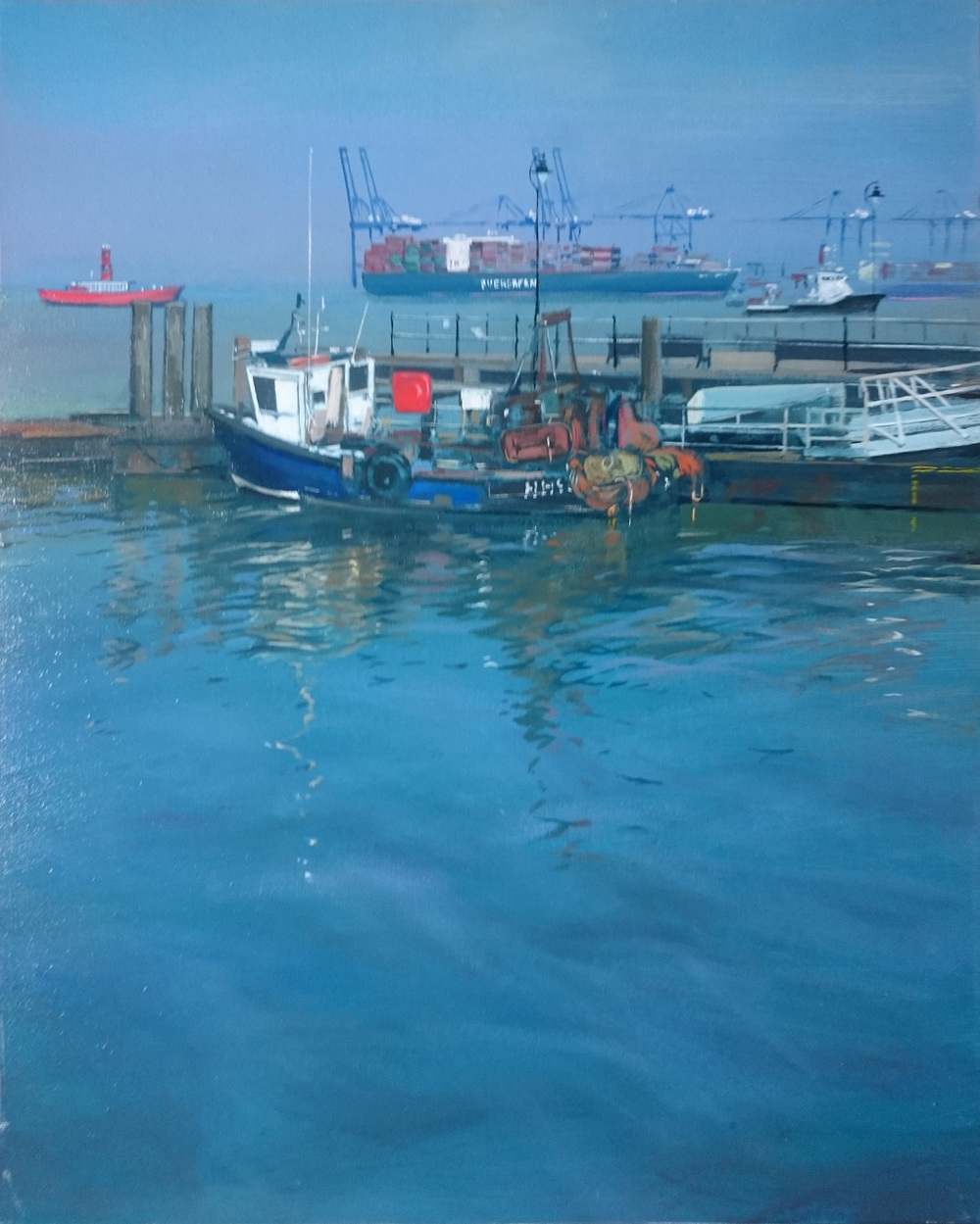 Harwich 10 50 x 40 cm oil on canvas £650