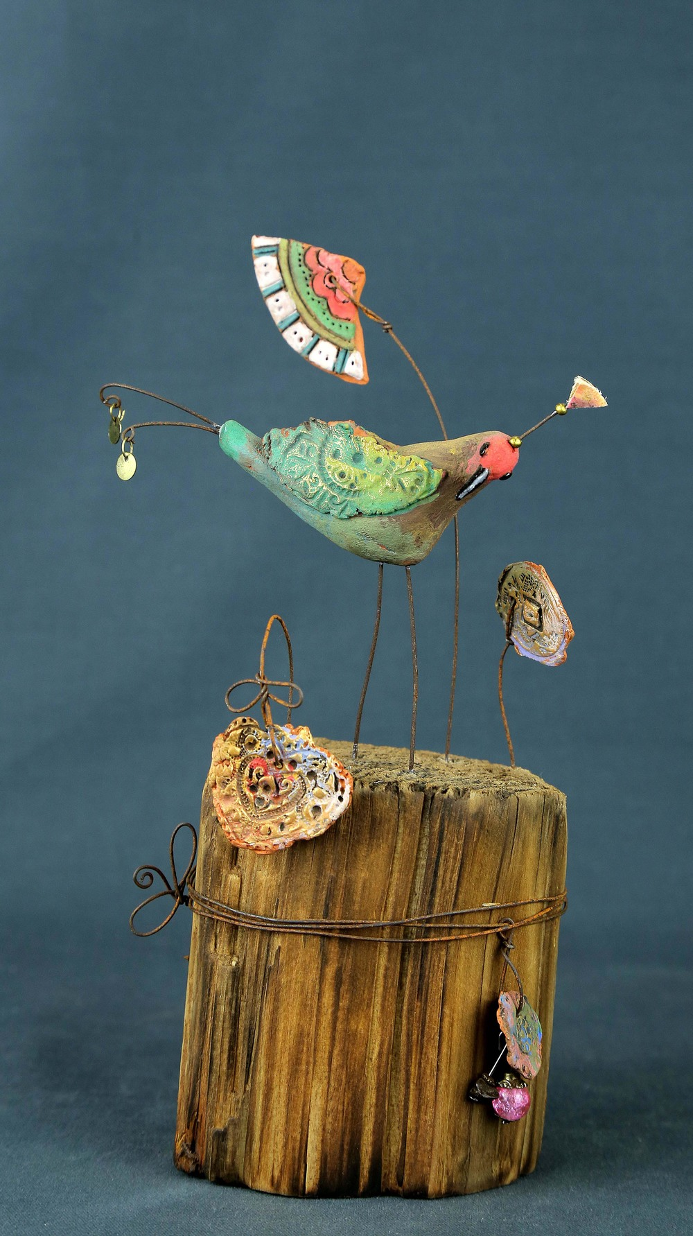 Ambar ceramic & mixed media £135