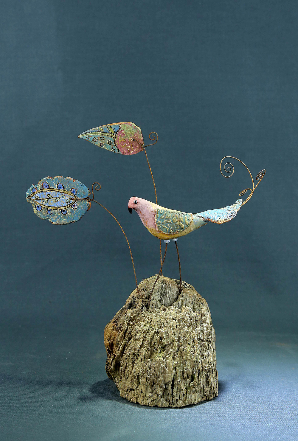 Gulab   ceramic & mixed media    £125