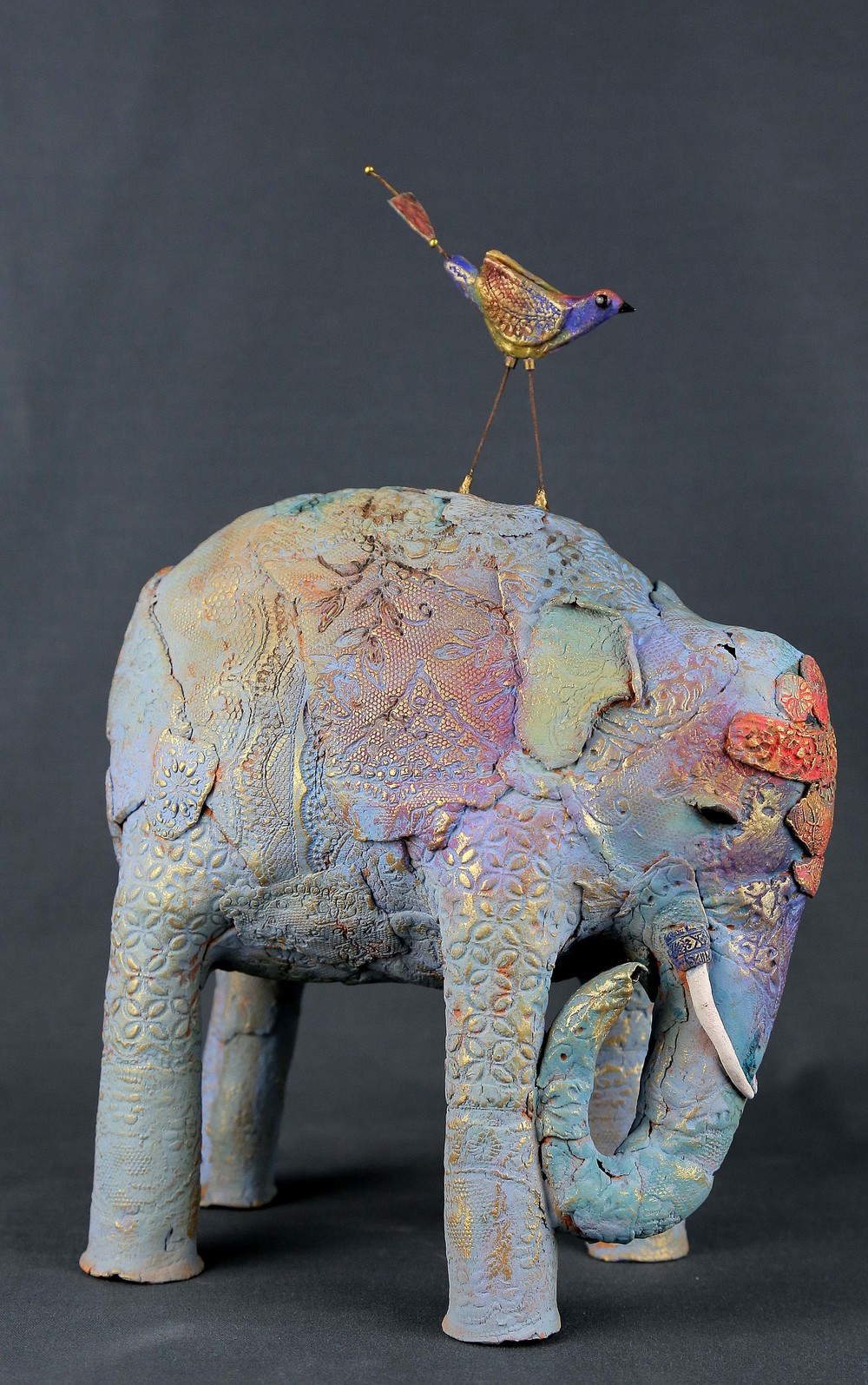 Gokul ceramic & mixed media sold