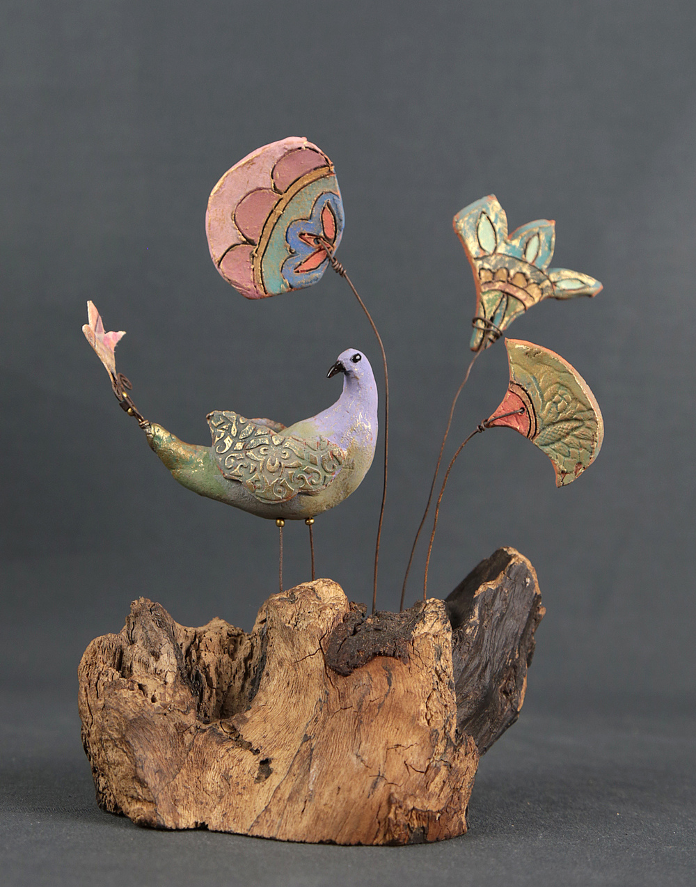 Bansari ceramic & mixed media £135