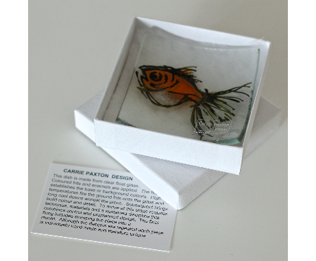 Wee Goldfish Dish glass £14