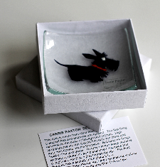 Wee Scottie Dish glass £14